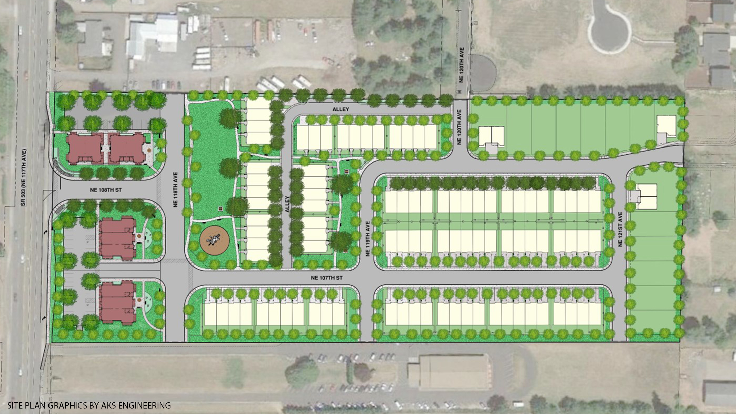 AKS site plan