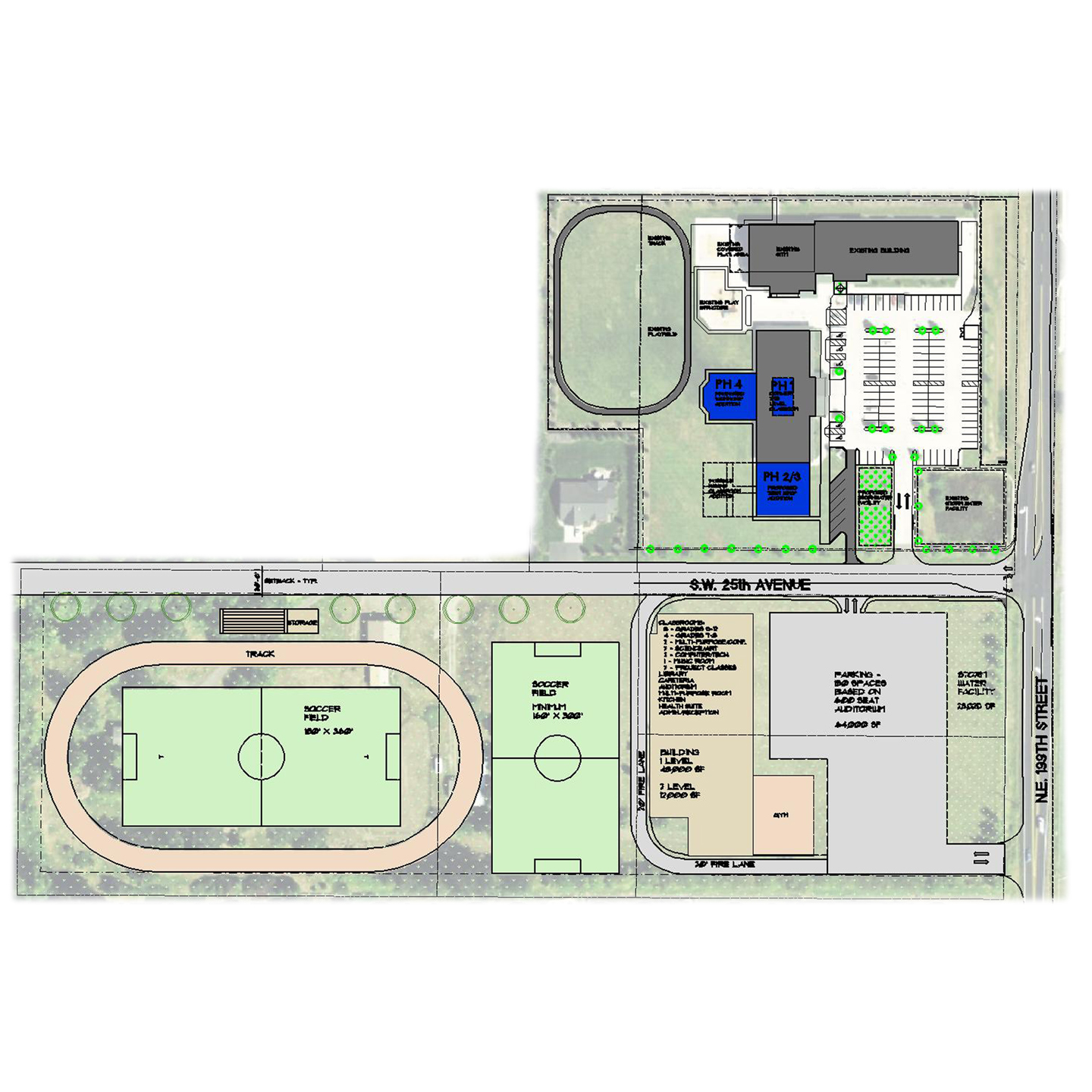 FFCS – Overall Site Plan