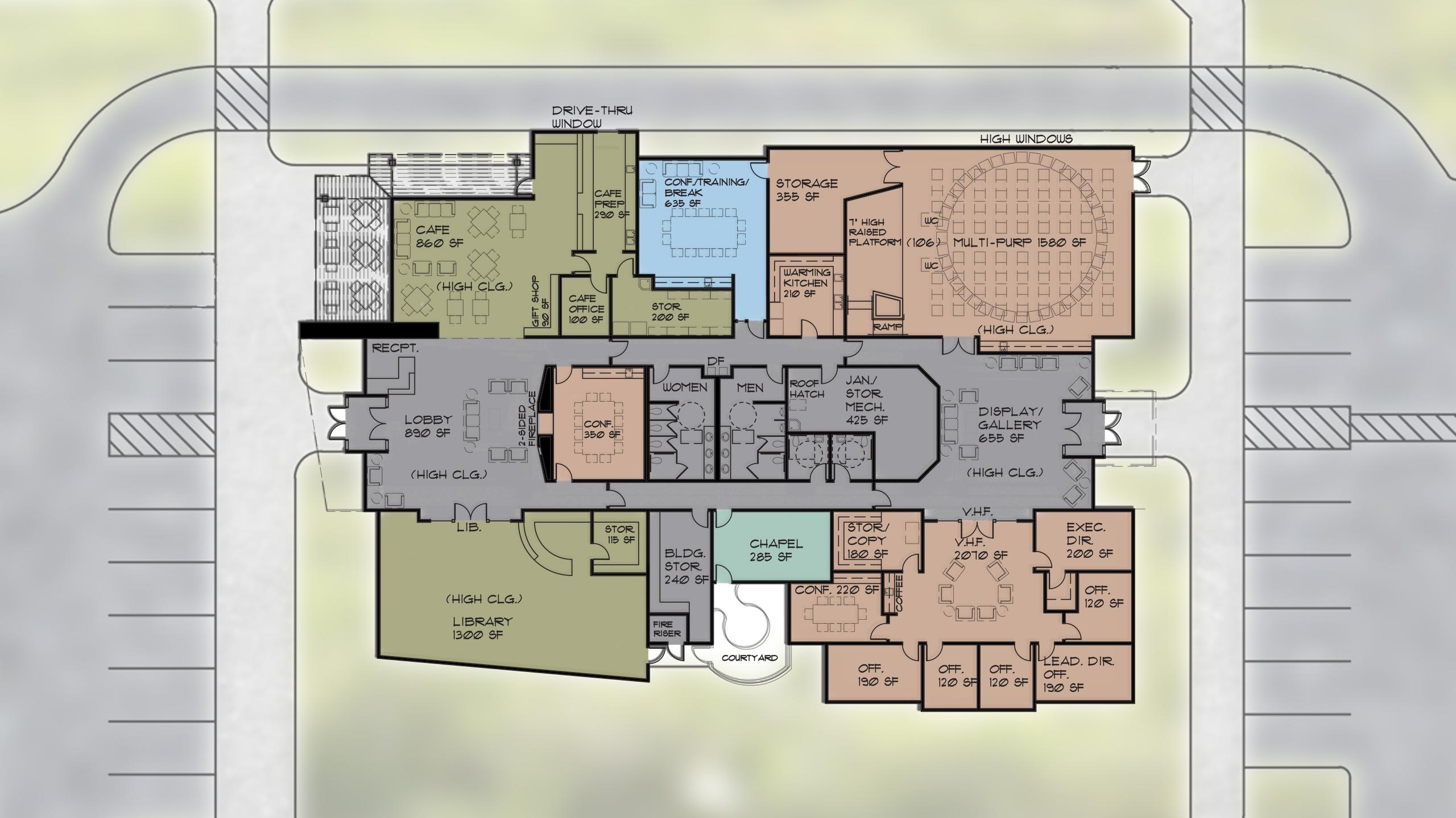 Resource Center – Floor Plan