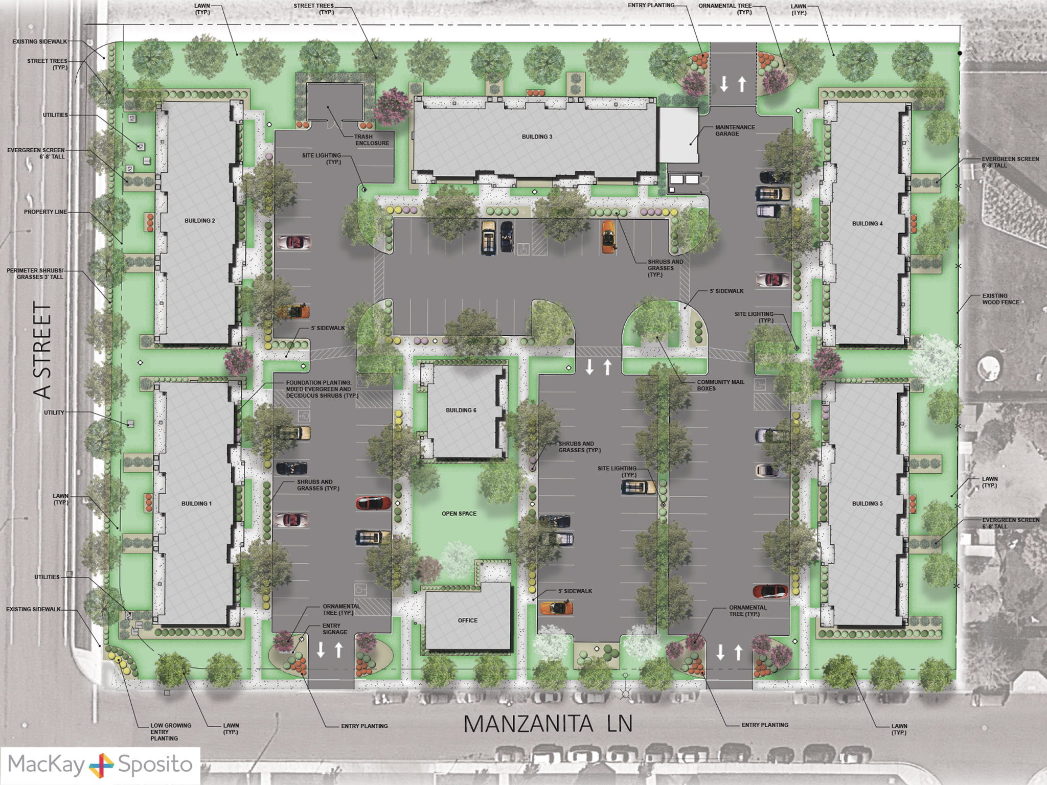 Site Plan – MacKay and Sposito